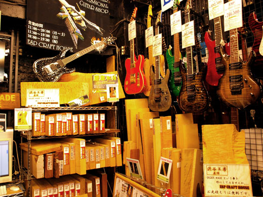 guitar-shops-in-tokyo-esp-craft-house