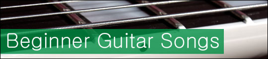 guitar songs for beginners header