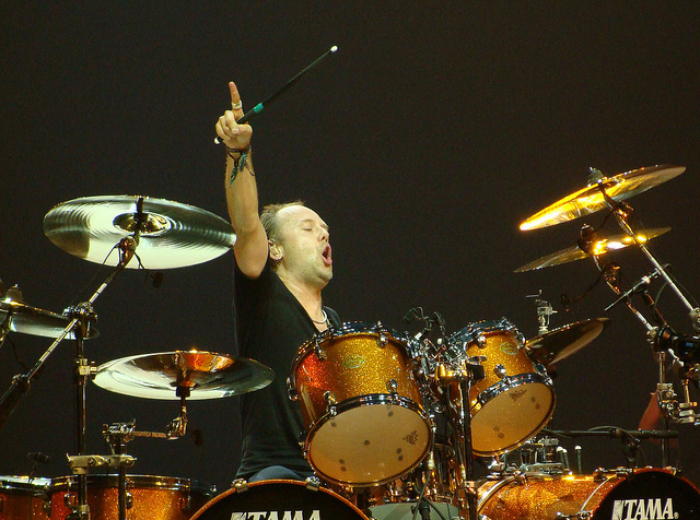 one by metallica lars ulrich